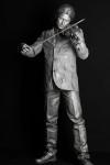 Живая статуя Скрипач