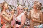 Живые статуи Ангелы в золоте