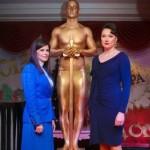 Живая статуя Оскар на 8 марта