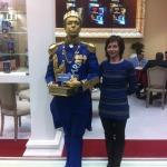 Живая статуя Король Ричард