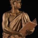 живая статуя Юлий Цезарь, живая статуя гладиатор