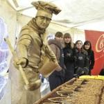 Живая статуя Повар, заказать повара