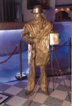 Живая статуя Фотограф