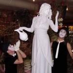 античные живые статуи заказать